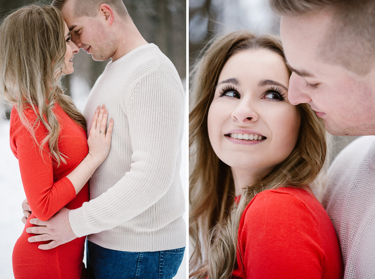 intimate photoshoot cute couple polish photographer maria kania