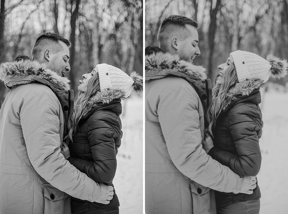 funny engagement photoshoot europe photographer maria kania