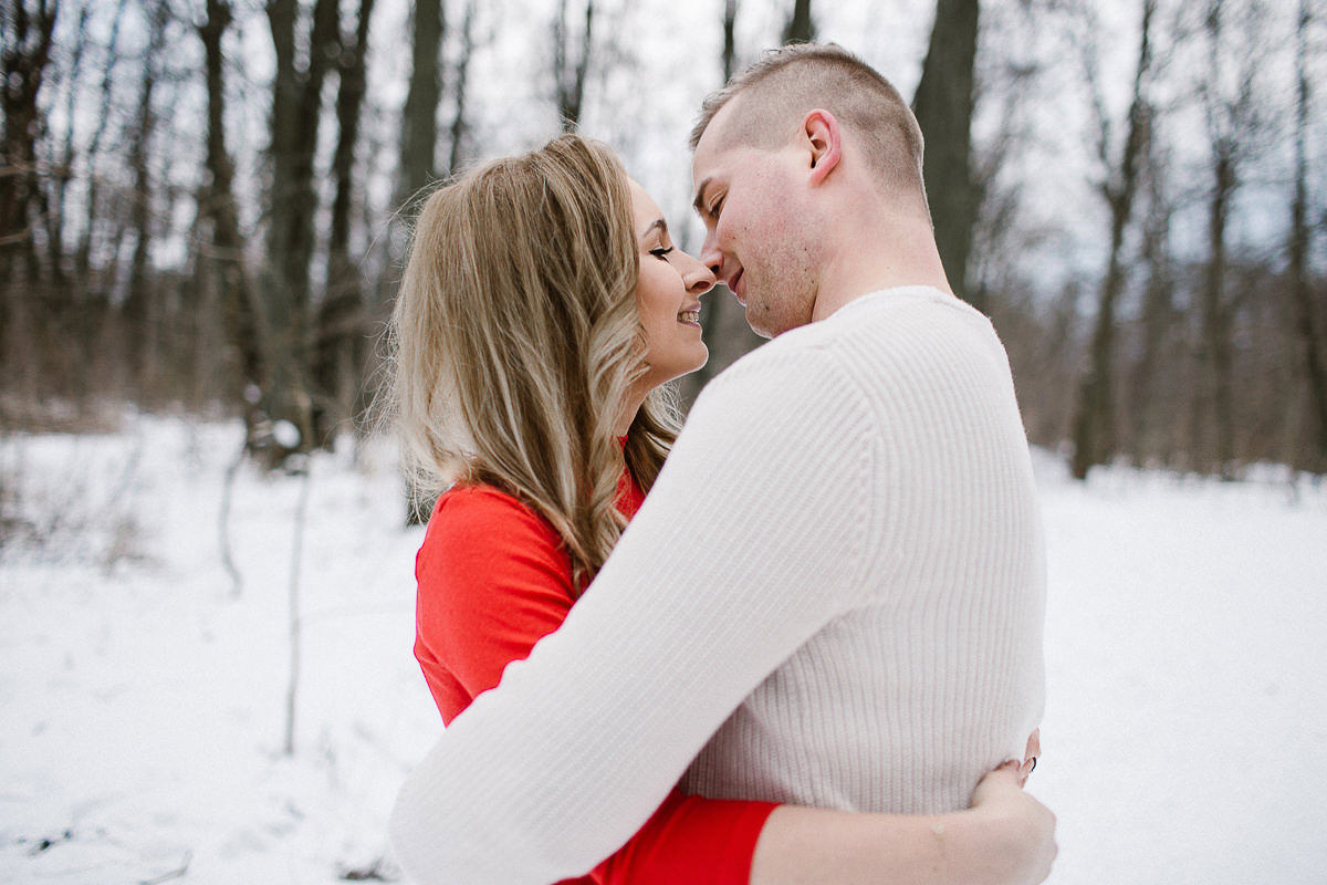 winter photoshoot polish photographer maria kania